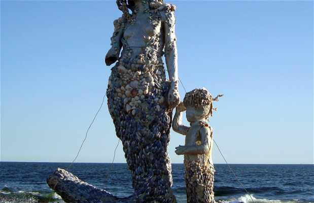 Sirenitas en las Rocas de la Península