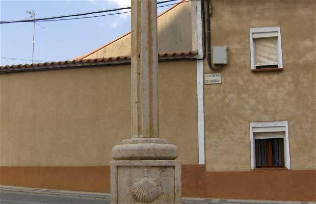 La croix du chemin de Saint-Jacques