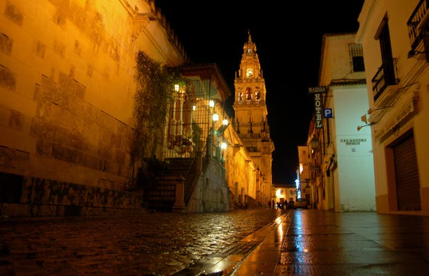 Night visit to the Cathedral of Córdoba