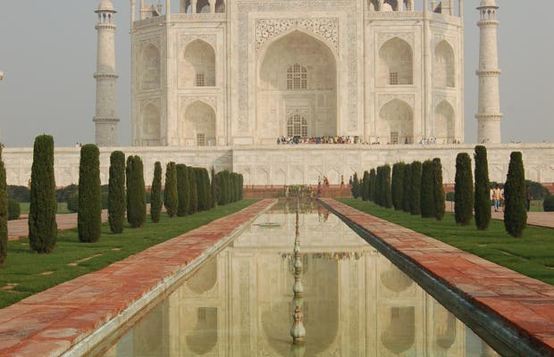 Fuentes del Taj Mahal