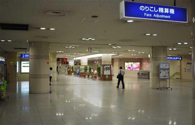 JR Namba station