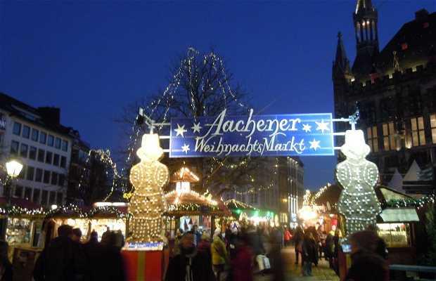 Mercado de Navidad de Aquisgrán