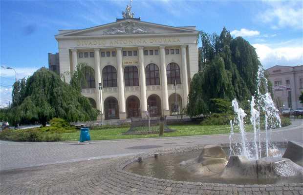 Il centro di Ostrava