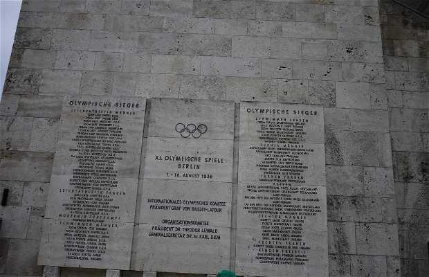 Mémoire Stade olympique de berlin