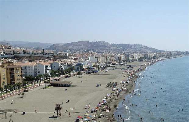 Spiaggia del Rincón de la Victoria