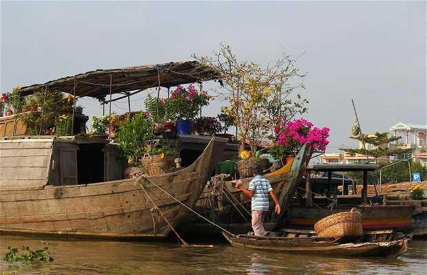 Mercado flotante de Can Tho