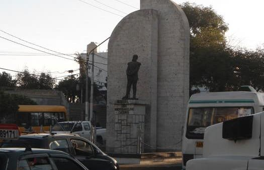 Statue de Mariscal Andres Avelino Caceres