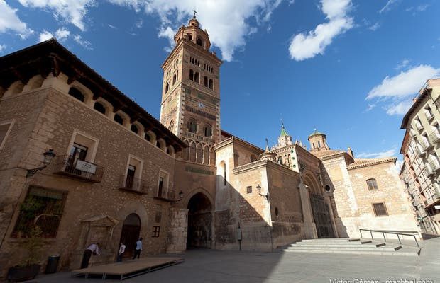 Catedral de Teruel y torres mudéjares