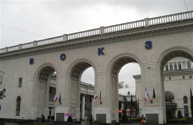 Estacion de trenes de Simferopol