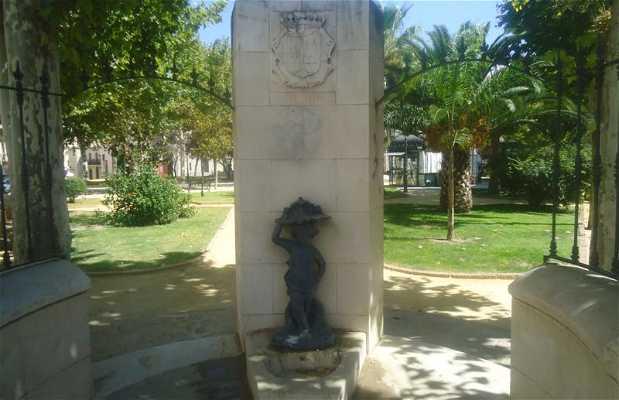Statue du dieu Altis