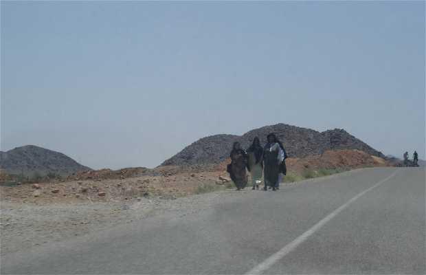 Carretera de Tineghir a Merzouga