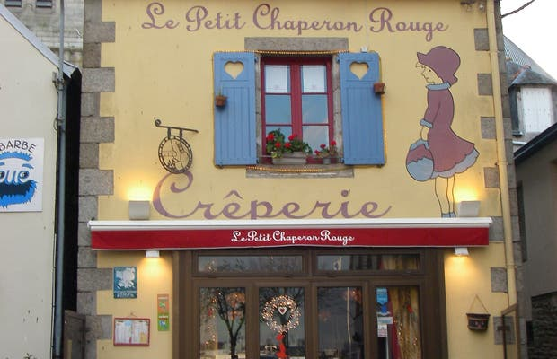 Crepería Le Petit Chaperon Rouge, Concarneau, Francia