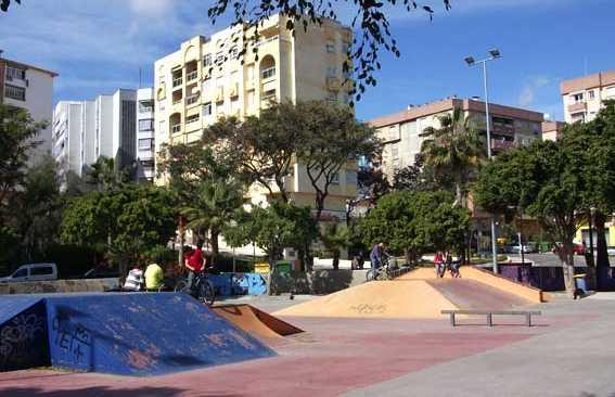 Piste di skateboard e pattinaggio a Marbella