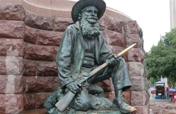 Paul Krugger statue
