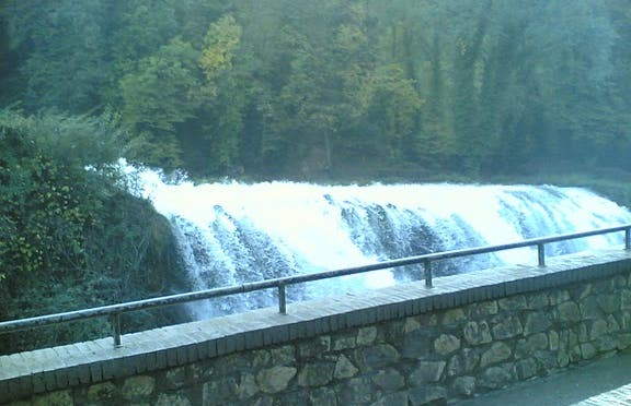 Parque fluvial del Nera