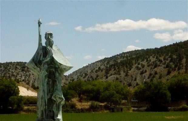 Estatua de Santo Domingo