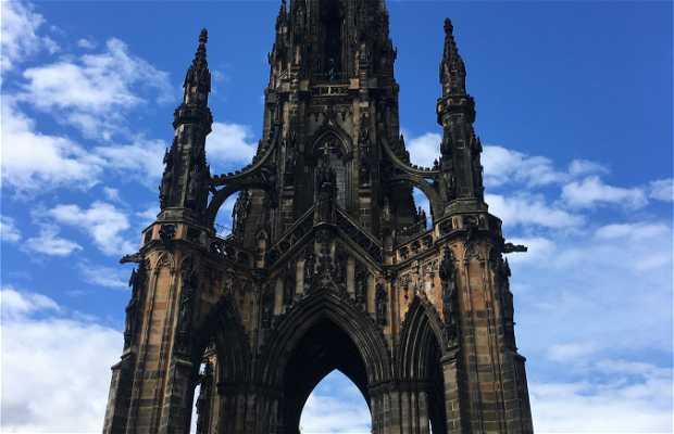 Monumento a Sir Walter Scott