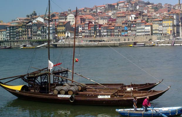 Boats in the Duero