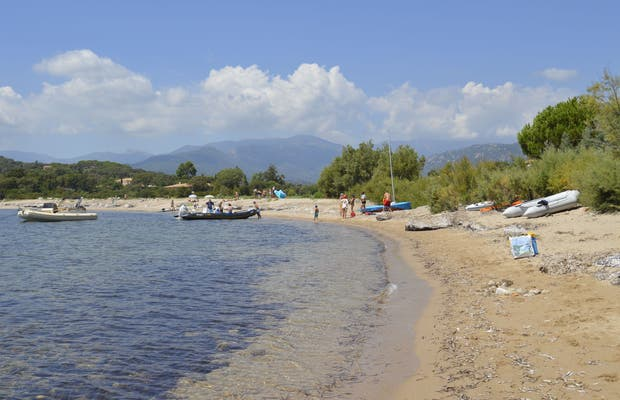 Playa de Vardiola de Zonza