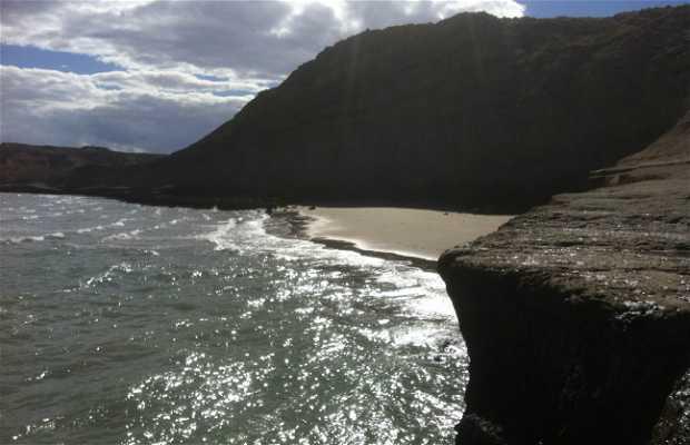 Punta Pardelas Beach