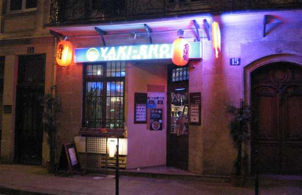 Yaki-Shop, Paris, Francia