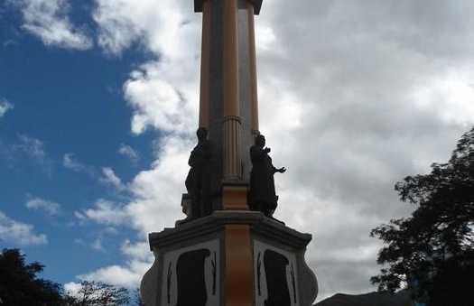 Plaza central de Catamayo