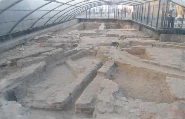Ruinas de las antiguas alcantarillas