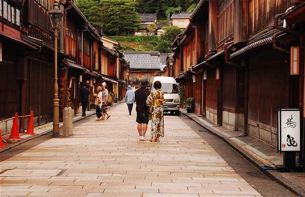 Higashi Chaya (Geisha District)