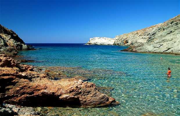 Praias de Folegandros