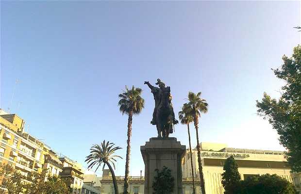 Escultura del rei Jacques Ier