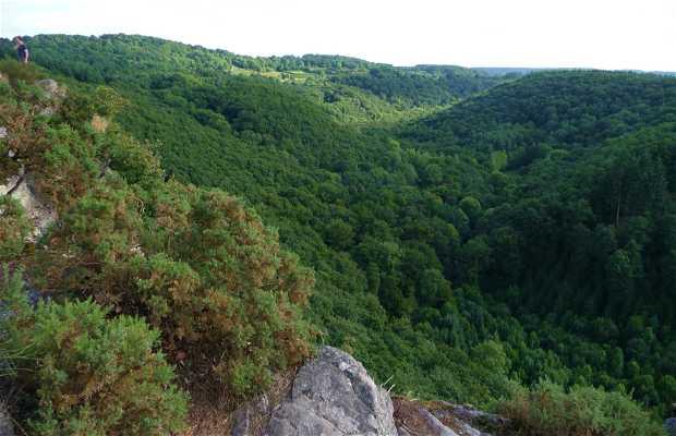 Acantilado La Roche d'Oëtre, Saint Philbert sur Orne, Francia