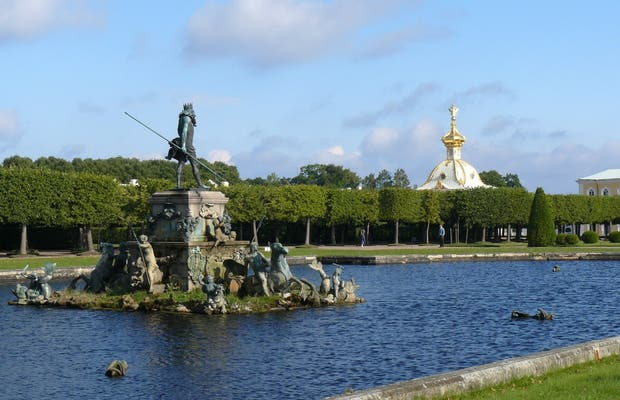 Parque Superiod de Peterhof