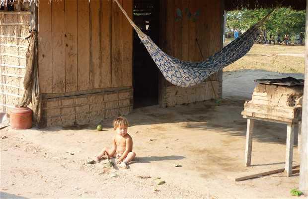 Casas típicas de las Aldeas Indígenas