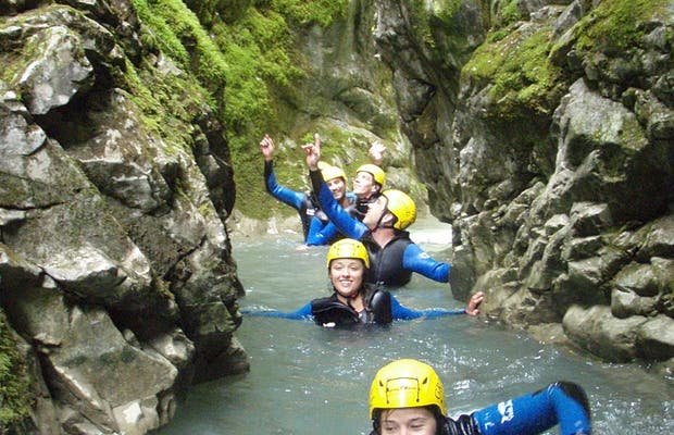 Canyoning in Fanlo
