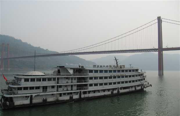 Ruta por el río Yangtze