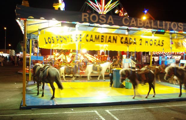 Fairground of Palencia