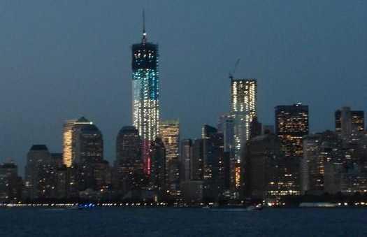 Manhattan por la noche