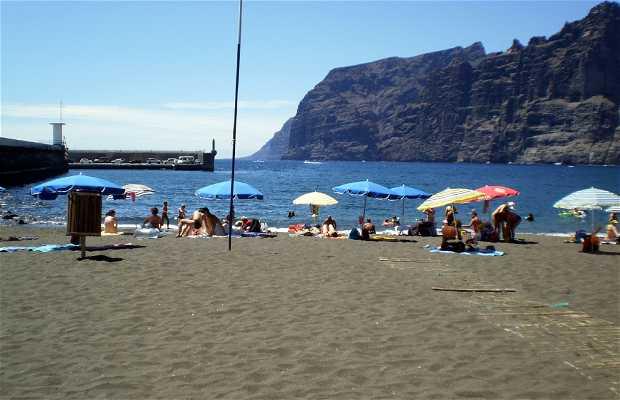 Spiaggia de los Guios a Tenerife