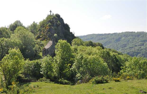 Site de Turlande, départ Via Corda