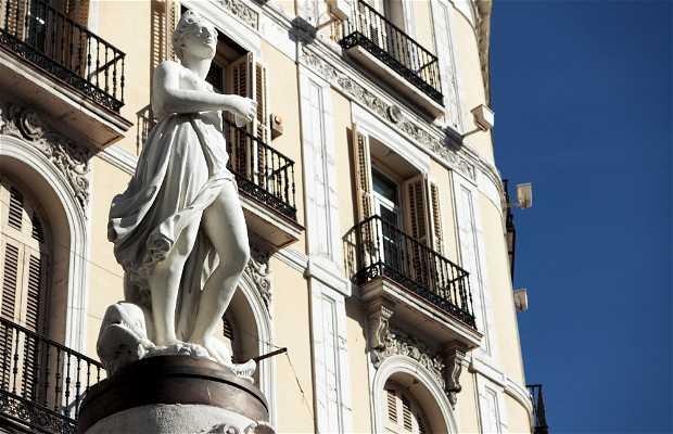 Statua della Mariblanca