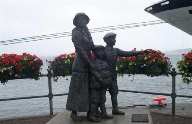 Estatua de Annie Moore