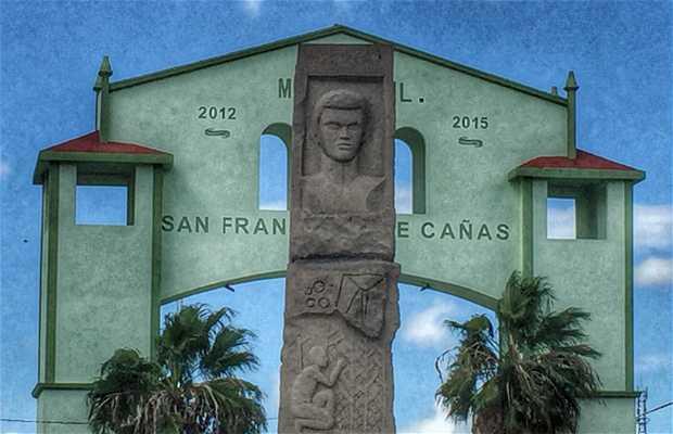 Monumento a Francisco Javier Mina