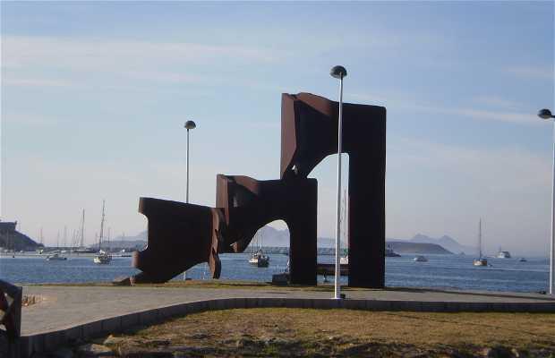 Escultura de Soledad Penalta