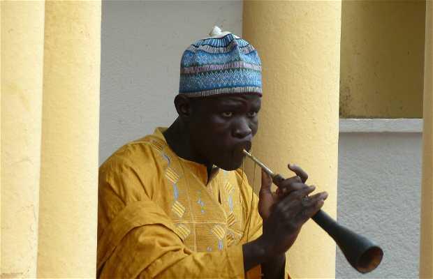 Recepción de nobles en el Lamidato de N'Gaoundére