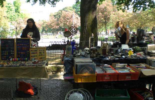 Mercadillo de Boxhagener Platz