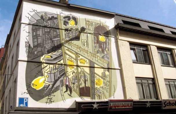 Fresque Monsieur Jean - BD de Dupuy & Berberian