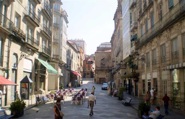 Plaza de Santa Eufemia a Orense