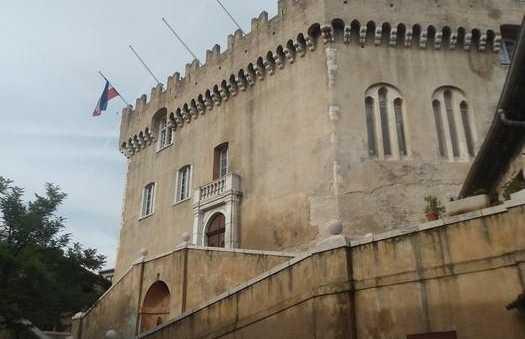 Le château des Hauts de Cagnes sur Mer