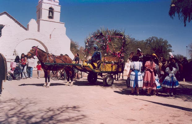 Cimetière de San Pedro de Atacama