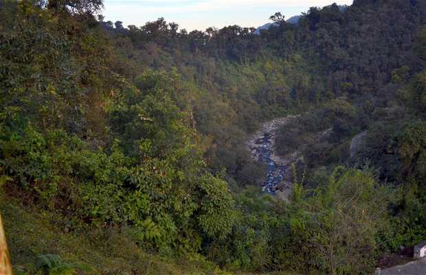 Quebrada de Los Sosa y su río.
